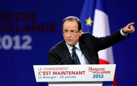 Hollande le bourget