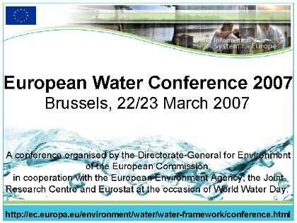 Waterconference